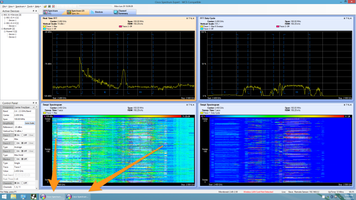 2 instances of Spectrum Expert