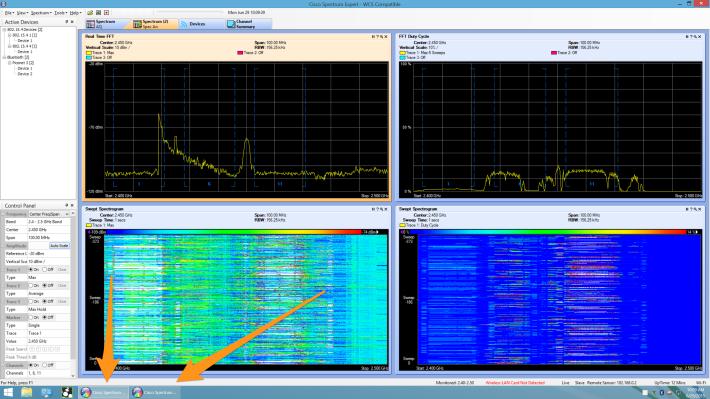 2 instances of Spectrum Expert