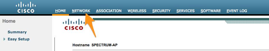 Spectrum Analysis using Cisco Spectrum Expert, Autonomous AP with