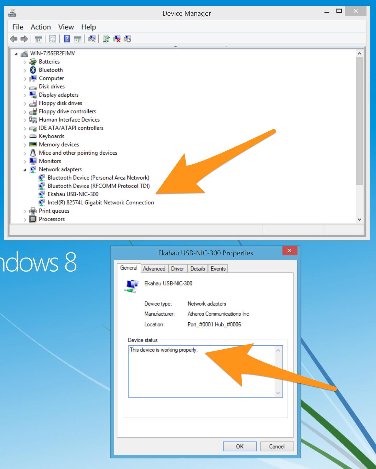 Ekahau ESS, Windows 8 1, VMware and NIC-300 USB – WLANs, Wi